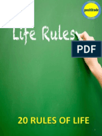 20 Rules of Life