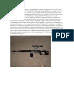 Caracteristicas de Armas