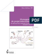 Management de Project International Du Discours de La Méthode a La Pratique Exemples Concrets - Riana Andrieux [French]