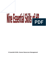 9 Essential HR Skills
