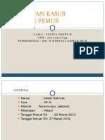 Presentasi Kasus Fr Femur Ppt