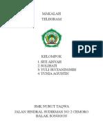 Makalah Telegram Smk Nurut Taqwa Songgon