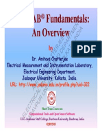 MATLAB Fundamentals-An Overview UGC ASC Burdwan Univ Sept2013