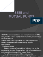 Sebi and Mutual Fund