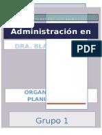 Seminario 1 Organizacion y Planificacion