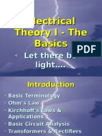 Lesson 15 - Electrical Theory