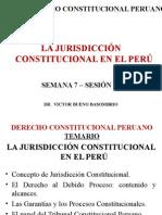 Jurisdicción Constitucional en El Perú