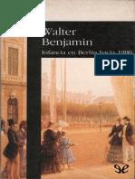 Benjamin Walter, Infancia en Berlin Hacia 1900