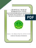 Proposal Wakaf
