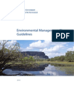 Environmental Management Plan Guidelines
