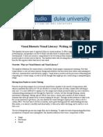 Visual RhetoricVisual Literacy Writing About Film