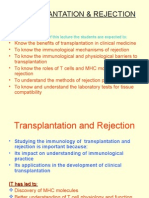 Transplantation and Rejection.ppt