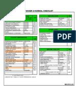 Fokker 50 Normal Checklist