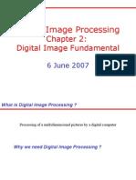Chapter 2 Digital Image Fundamantels