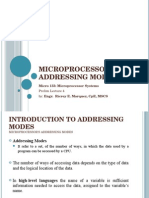 Micro 133 Prelim Lecture 4 - Microprocessor_s Addressing Modes