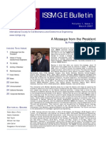 ISSMGE Bulletin Volume1 Issue1