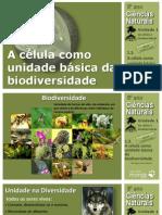 CN8 a Celula Como Unidade Basica Da Biodiversidade