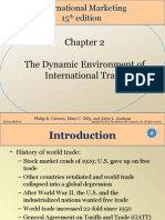 Chap002 ppt environment of intnl trade