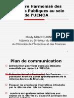 S1_2_Le Cadre Harmonisé Des Finances Publiques