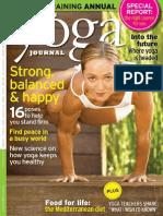 Yoga Journal - January 2014 AU