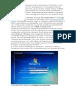 Reparando o Windows7 Com CD de Instalação