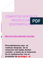 Materiales de Proteccion Dentino Pulpar