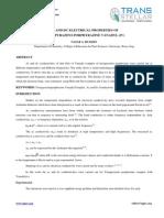 1. Semiconductor - IJSST - Ac and Dc Electrical Properties of Tetrapyrazino-Porphyrazine