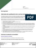 Toyota 2kd ftv Correas de distribucion