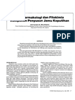 Efek Farmakologi Dan Fitokima