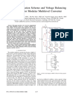 A Novel Modulation Scheme and Voltage Balancing