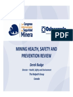 11 Onceava Exposicion Mining Health, Safety And