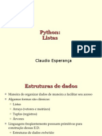 Listas em Python