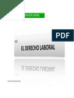 UD1 El Derecho Del Trabajo