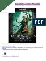 Haemonculus Covens en Español