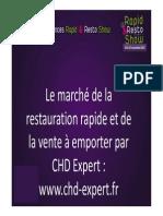Le Marche de La VAE-Restauration Rapide