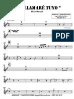 ME LAMARÉ TUYO - Victor Manuelle - 2° Trompeta en Bb  - 2015-10-07 2129