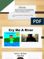 idioms lesson
