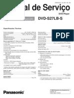 Panasonic DVD S27LB S