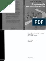 BUTZER, K. Arqueologia- Una Ecologia Del Hombre. 198933333