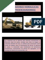 13EXCAVADORAS HIDRAULICAS