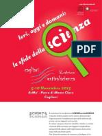Brochure Festivalscienza 2013