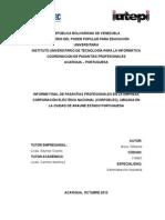 Actualizacion de Manual de Procesamiento de Facturacion CORPOELEC
