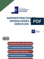 Administración y Operaciones en Servicios