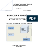 Didactica Formarii Competentelor a. Ardelean O. Mandrut