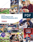 Financial Statements of Tesco PLC