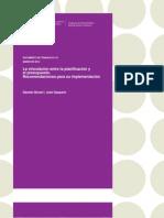 119 DT GP La Vinculacion Entre La Planificacion y El Presupuesto