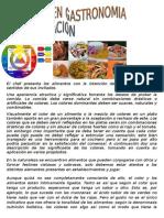 Colores en Gastronomia