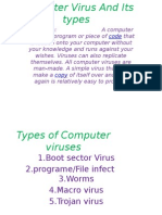 Computer Virus and Its Types