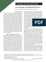 Advancavance in Arrhythmia and Electrophysiology