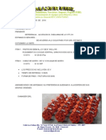 Cotizacion de Pastecas y Cables de Acero Dic 14